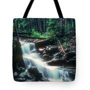 Middle Fork Red River Falls Tote Bag