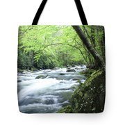 Middle Fork River Tote Bag