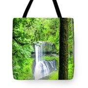 Middle North Falls 5 Tote Bag