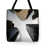 Middle Of The City Tote Bag