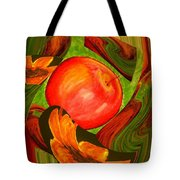 Middle Of The Garden Tote Bag