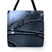 Middle Winter Blues Tote Bag