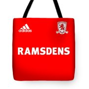 Middlesbrough F.c. Tote Bag