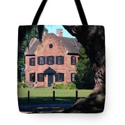 Middleton Place Plantation House Tote Bag