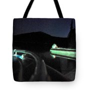 Midnight At Lake Diamond Tote Bag