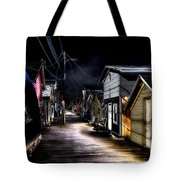 Midnight At The Boathouse Tote Bag