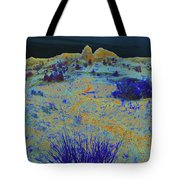 Midnight At The Burning Coal Vein Tote Bag