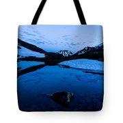Midnight Atop Crow Pass Tote Bag
