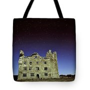 Midnight Blue At Leamanch Castle The Gateway To The Burren Tote Bag
