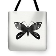 Midnight Butterfly 4- Art By Linda Woods Tote Bag by Linda Woods