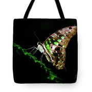 Midnight Butterfly Tote Bag