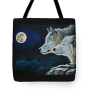 Midnight Calling Tote Bag