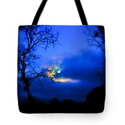 Midnight Clouds Tote Bag