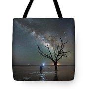 Midnight Explorer At Botany Bay Beach Tote Bag