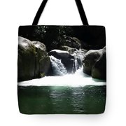 Midnight Hole Tote Bag