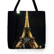 Midnight In Paris Tote Bag