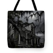 Midnight In The House Tote Bag by James Christopher Hill