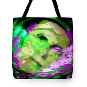 Midnight Mask Tote Bag