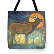 Midnight Mountain Magic 1 Tote Bag