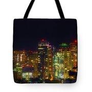 Midnight Oil Tote Bag