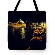 Midnight Sail Tote Bag