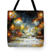 Midnight Storm Tote Bag