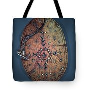 Midnight Sun Drum Tote Bag