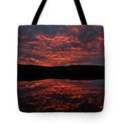 Midnight Sun In Norbotten Tote Bag