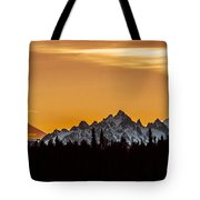 Midnight Sunset Tote Bag