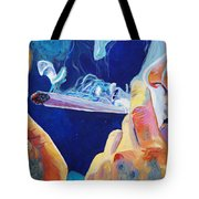 Midnight Toker Tote Bag