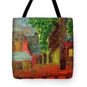 Midnight Village  Tote Bag
