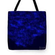 Forest Slope In Moonlight Tote Bag
