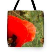Midsummer Poppy Tote Bag