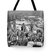 Midtown And Central Park View Tote Bag