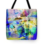 Midtown Manhattan Tote Bag