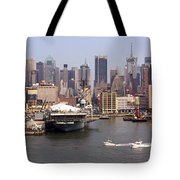 Midtown Manhattan Panorama Tote Bag