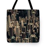 Midtown Manhattan Skyline Aerial Tote Bag