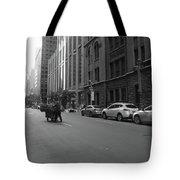 Midtown Sunday Morning Tote Bag