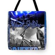 Midwest Ski Bikes Tote Bag