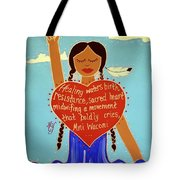 Midwives Of Standing Rock Tote Bag
