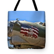 Mighty B-17 Fortress Tote Bag