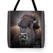 Mighty Bison Tote Bag