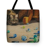 Mighty Hunter Tote Bag by Karen Ilari
