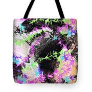 Mighty Mouse - Abstract Tote Bag