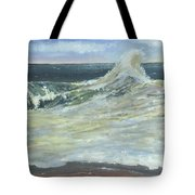 Mighty Nauset Wave Tote Bag