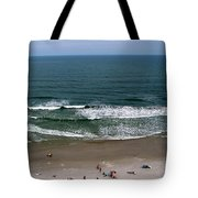 Mighty Ocean Aerial View Tote Bag
