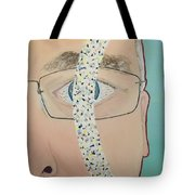 Migraine Scotomata Tote Bag
