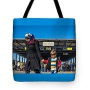 migrants in Nicklesdorf Tote Bag