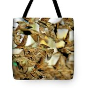 Migration Of The Starlings Tote Bag