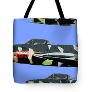 Migs In Formation Tote Bag